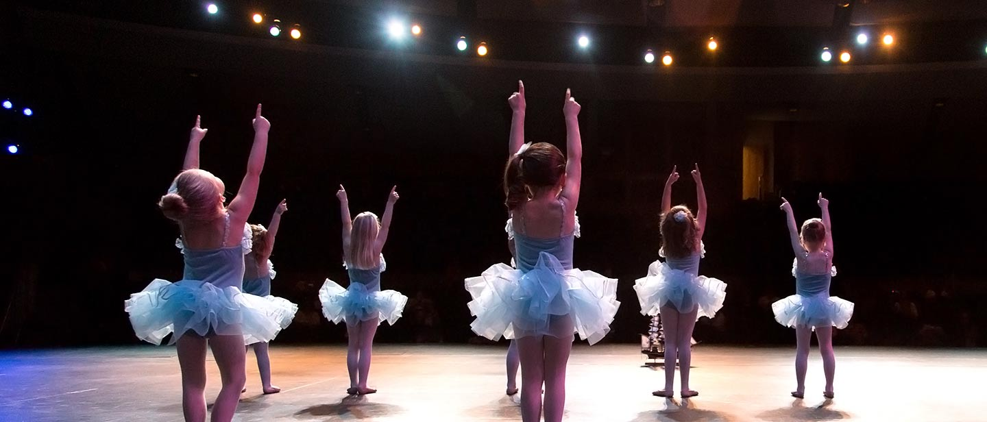 Every spring, our dancers perform at the annual dance recital